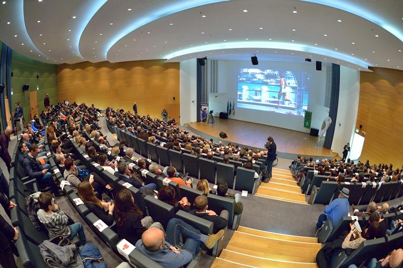 L'Auditorium Testori al completo per il Gala del Triathlon (Foto: Dani Fiori)